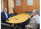 Οι ζημιές από καύσωνες σε συνάντηση Αρναουτάκη με Πρόεδρο ΕΛΓΑ